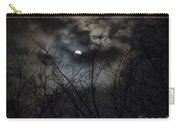 Full Moon With Clouds Carry-all Pouch