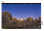 Full Moonrise At City Of Rocks State Carry-all Pouch