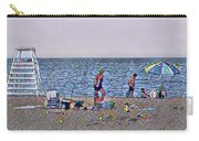 Fun At The Beach Carry-all Pouch