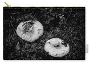 Fungi No 3 Bw Carry-all Pouch