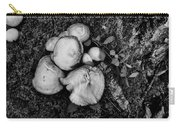 Fungi No 4 Bw Carry-all Pouch
