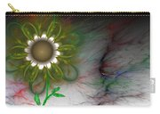 Funky Floral Carry-all Pouch