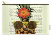 Funny And Cute Pineapple Art Carry-all Pouch
