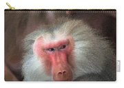 Funny Baboon Carry-all Pouch