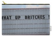 Funny Billboard  Carry-all Pouch