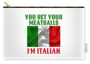 Funny Italian Flag Carry-all Pouch