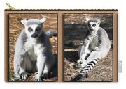 Funny Lemurs Carry-all Pouch