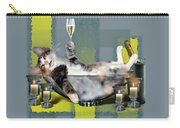 Funny Pet Print With A Tipsy Kitty  Carry-all Pouch