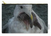Funny Seagull With Starfish Carry-all Pouch
