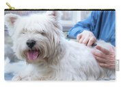 Funny View Of The Trimming Of West Highland White Terrier Dog Carry-all Pouch