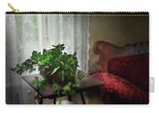 Furniture - Plant - Ivy In A Window  Carry-all Pouch by Mike Savad