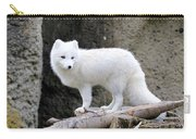 Furry Arctic Fox  Carry-all Pouch