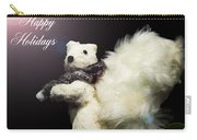 Furry Holiday Carry-all Pouch