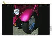 Fuschia Hot Rod Wheel  Carry-all Pouch