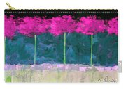Fuschia Trees Carry-all Pouch
