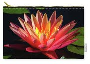 Fushia Waterlily 1 Carry-all Pouch