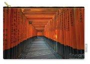 Fushimi Inari Taisha Shrine In Kyoto, Japan Carry-all Pouch