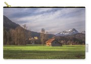 Fussen Mountain Scene Carry-all Pouch