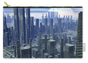 Futuristic City - 3d Render Carry-all Pouch