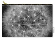 Fuzzy - Black And White Carry-all Pouch