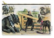 G. Cleveland Cartoon, 1895 Carry-all Pouch