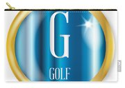 G For Golf Carry-all Pouch