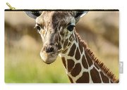 G Is For Giraffe Carry-all Pouch