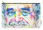 Gabriel Garcia Marquez - Portrait.2 Carry-all Pouch