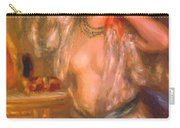Gabrielle At The Mirror 1910 Carry-all Pouch