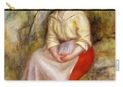 Gabrielle In A Straw Hat 1900 Carry-all Pouch