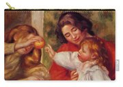 Gabrielle Jean And A Little Girl Carry-all Pouch