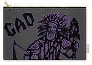 Gad At The Last-purple Trim Carry-all Pouch