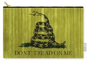 Gadsden Flag Barn Door Carry-all Pouch