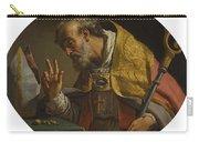 Gaetano Gandolfi San Matteo Della Decima Near Bologna 1734   1802 Bologna Saint Liborius Carry-all Pouch
