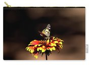 Gaillardia And Butterfly Carry-all Pouch