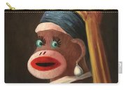 Gal With A Pearl Earring Carry-all Pouch