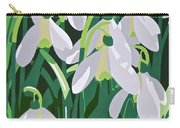 Galanthus Carry-all Pouch