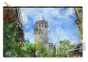 Galata Tower In Istanbul Tukey Carry-all Pouch