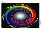 Galaxy In Chakra Colors Carry-all Pouch