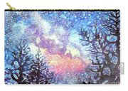 Galaxy Spring Night Watercolor Carry-all Pouch