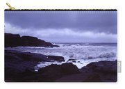 Gale Winds At Nubble Light Carry-all Pouch