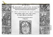 Galen, Opera Omnia, Title Page, 1556 Carry-all Pouch