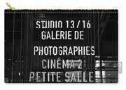Galerie De Photographies Carry-all Pouch