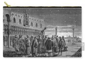 Galileo Demonstrates Telescope, 1609 Carry-all Pouch