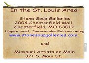 Gallery Locations In The St. Louis Area Carry-all Pouch