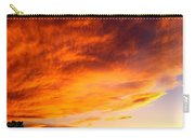 Gallo Peak Fiery Skies  Carry-all Pouch