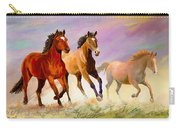 Galloping Horses Carry-all Pouch