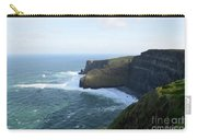 Galway Bay And Towering Cliffs Of Moher In Ireland Carry-all Pouch