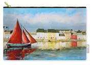 Galway Hooker Leaving Port Carry-all Pouch