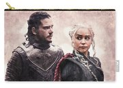 Game Of Thrones. Jon Snow And Daenerys Targaryen Carry-all Pouch
